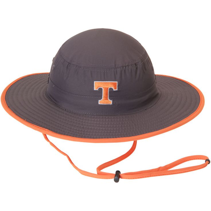 Tennessee Volunteers Top of the World Chili Dip Boonie Bucket Hat - Charcoal