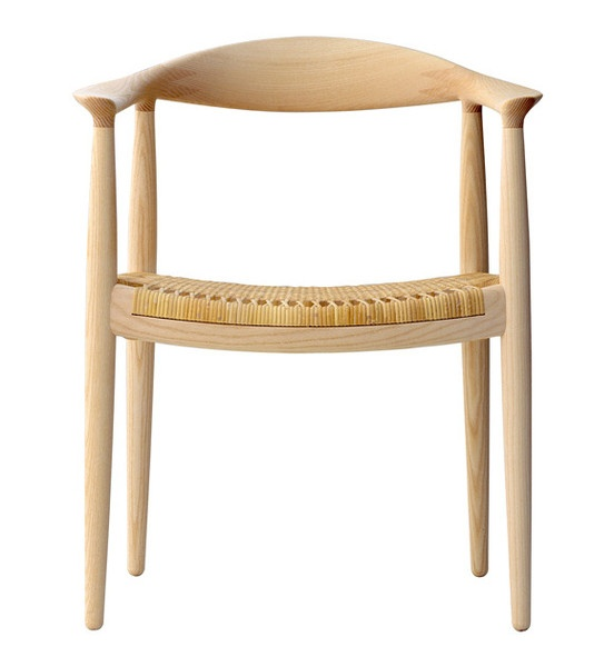 """Hans Wegner """"The Chair"""" http://www.danishdesignstore.com/products/original-pp501-the-chair-designer-hans-j-wegner-1"""