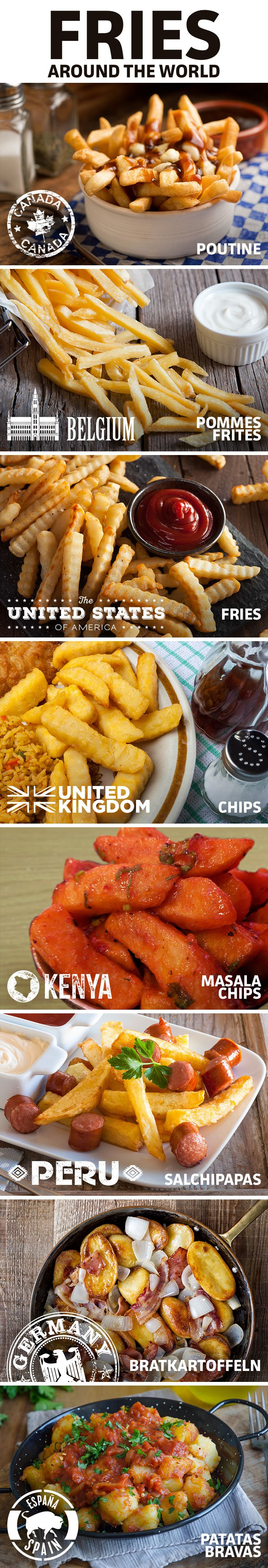 Check out fries from around the world.