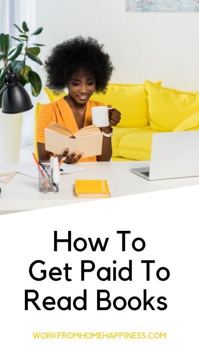Get Paid To Read Books From Home