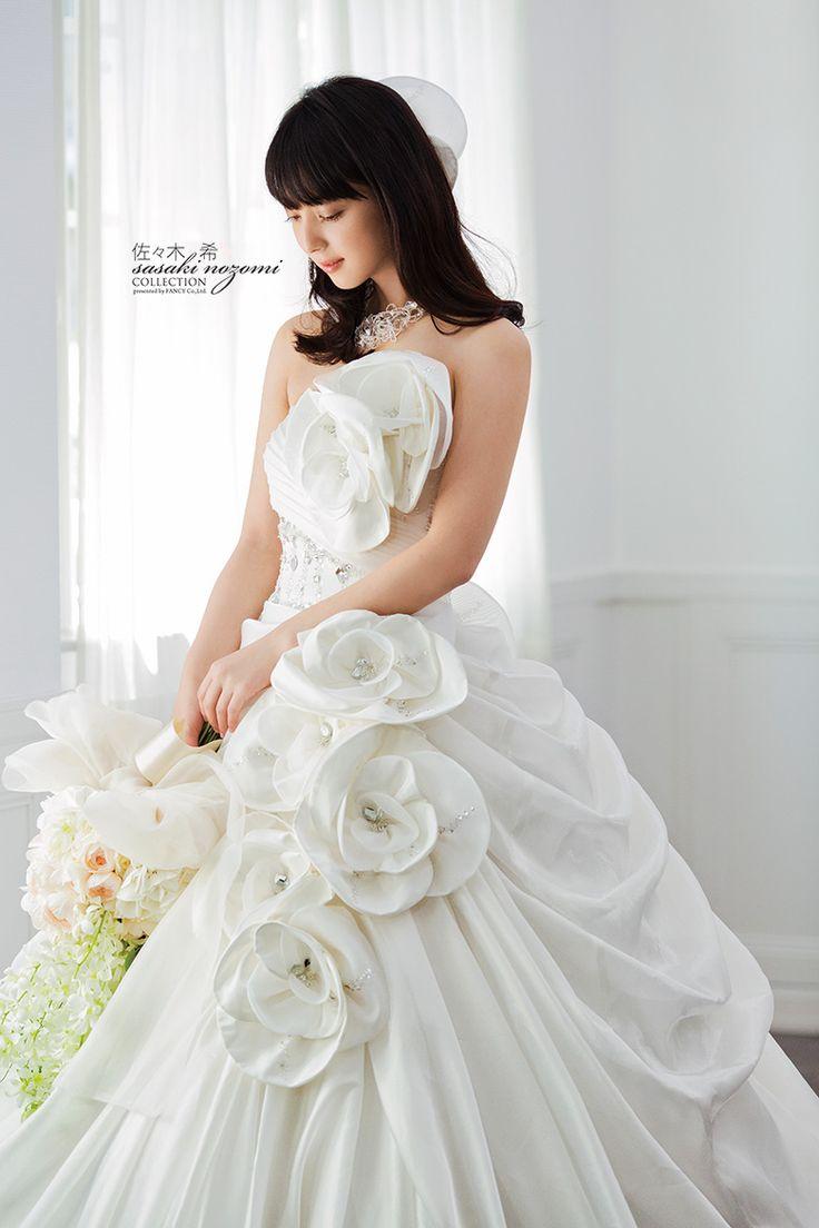 Sasaki Nozomi Collection #ballgown #wedding dress