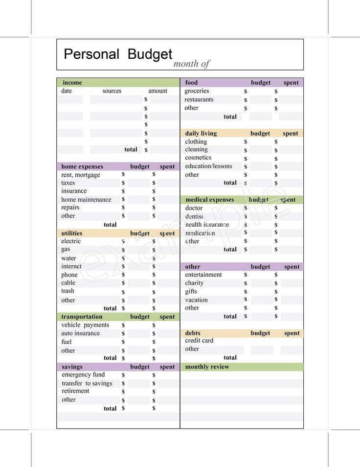 10 Budget Templates That Will Make You Stop Stressing Monthly