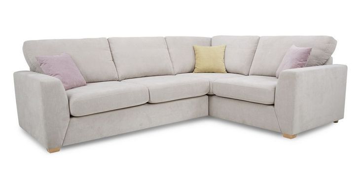 Gracie Left Hand Facing 2 Seater Corner Sofa Sherbet | DFS Ireland