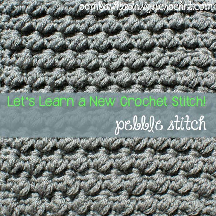 Pretty Pebble Stitch | AllFreeCrochet.com