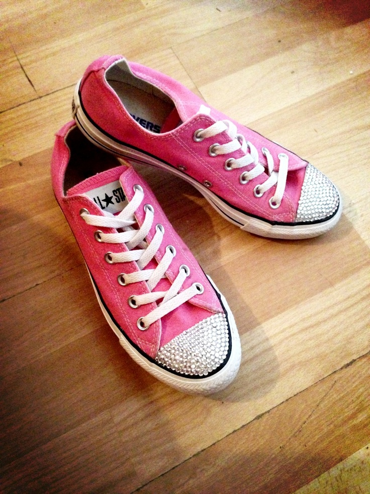 Swarovski crystallised converse  Send in your own £20 Adults & £15 children or email us @ sam@sparklesbysam.co.uk to order some new ones from us