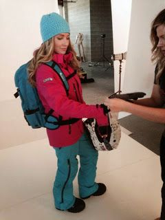 Divas SnowGear: Another day at the photoshoot!