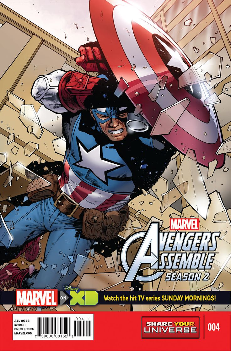 Preview: Marvel Universe Avengers Assemble Season 2 #4, Cover - Comic Book Resources