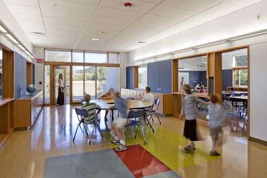 The 8 Things Domestic Violence Shelters Can Teach Us About Secure School Design,Consider scale when configuring shared living quarters. Project Name: Thurston Elementary School in Springfield School District. Photo by Lincoln Barbour