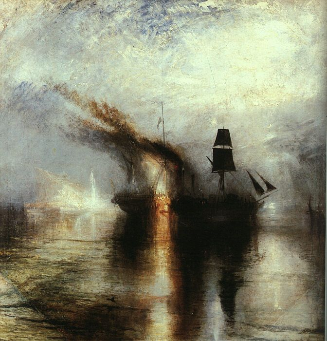 Peace Burial at Sea by Joseph Mallord William Turner
