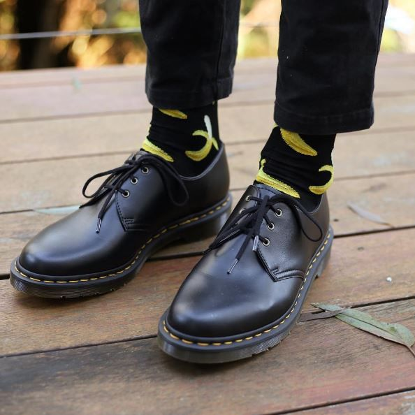 Bananas for Docs: the Vegan 1461 shoe. Shared by mikemetro.xvx