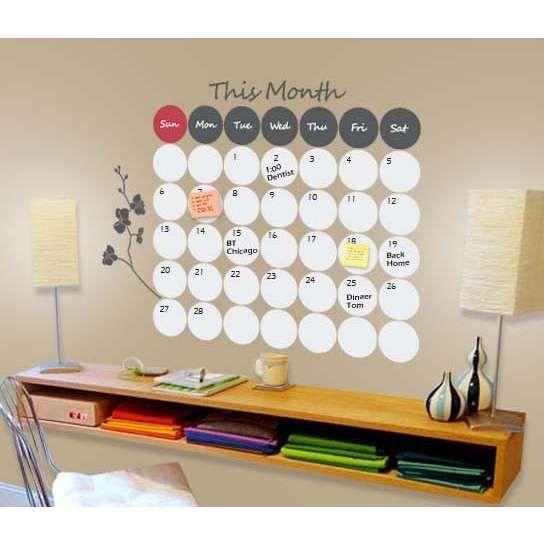 Calendar Wall Ideas : Best ideas about dry erase calendar on pinterest