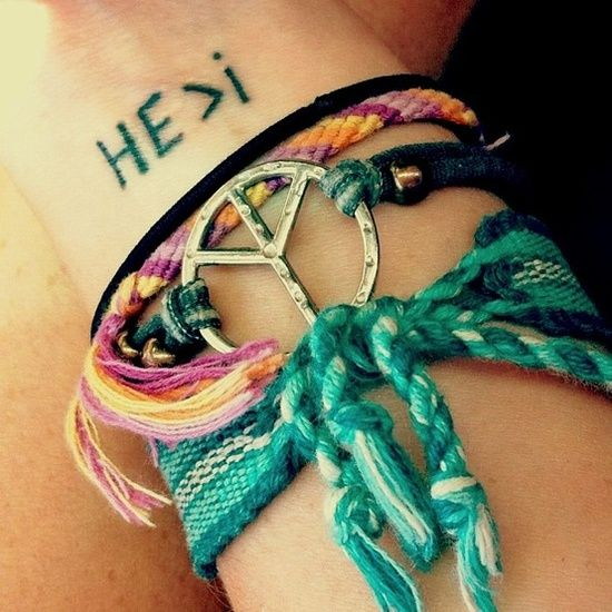HE is greater than i FREAKING LOVE THIS!! - cute-tattoo.com