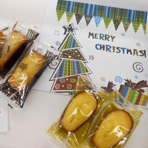 サンタ🎅さんからの贈り物🎁 みんなで美味しく食べました❗ #クリスマス #クリスマスプレゼント #マドレーヌ #東亜和裁 #toawasai