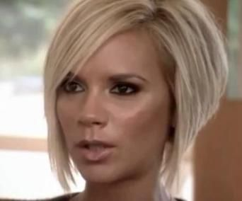 Victoria Beckham with a Graduated Bob- One of The 8 Most Popular HAIRcuts of 2012
