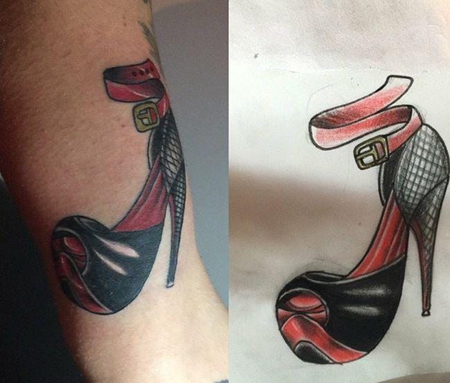 Tatuaje de zapato realizado en nuestro centro de la Vaguada de Madrid.    #tattoo #tattoos #tattooed #tattooing #tattooist #tattooart #tattooshop #tattoolife #tattooartist #tattoodesign #tattooedgirls #tattoosketch #tattooideas #tattoooftheday #tattooer #tattoogirl #tattooink #tattoolove #tattootime #tattooflash #tattooedgirl #tattooedmen #tattooaddict#tattoostudio #tattoolover #tattoolovers #tattooedwomen#tattooedlife #tattoostyle #tatuajes #tatuajesmadrid #ink #inktober #inktattoo