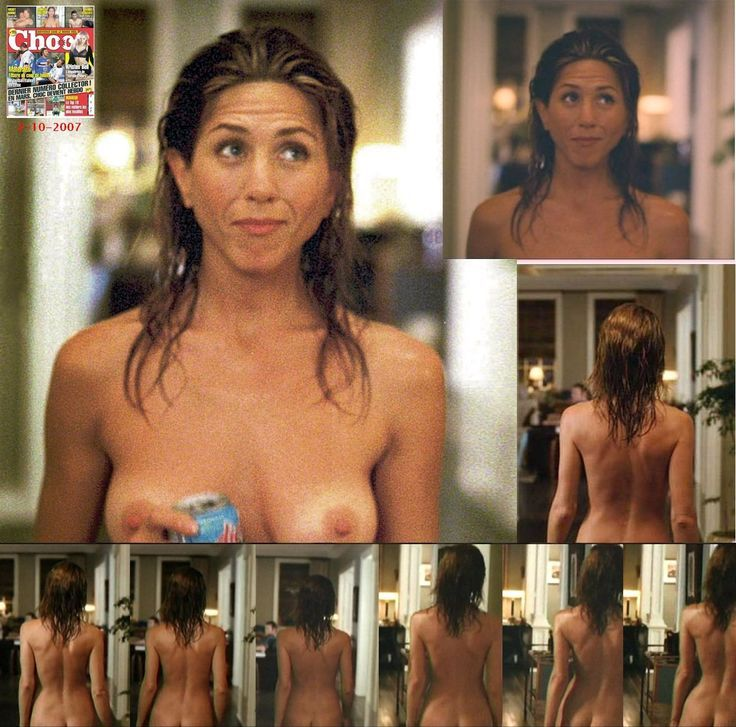 Aniston naked in friends