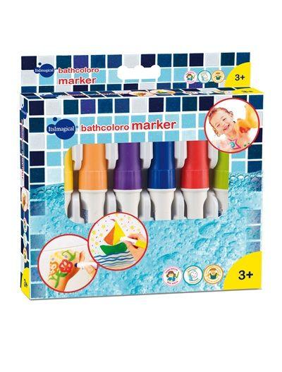 Feutres pour le bain BathColoro Marker MULTICOLORE - vertbaudet enfant