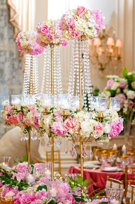 Stoneblossom florals centerpieces romantic wedding