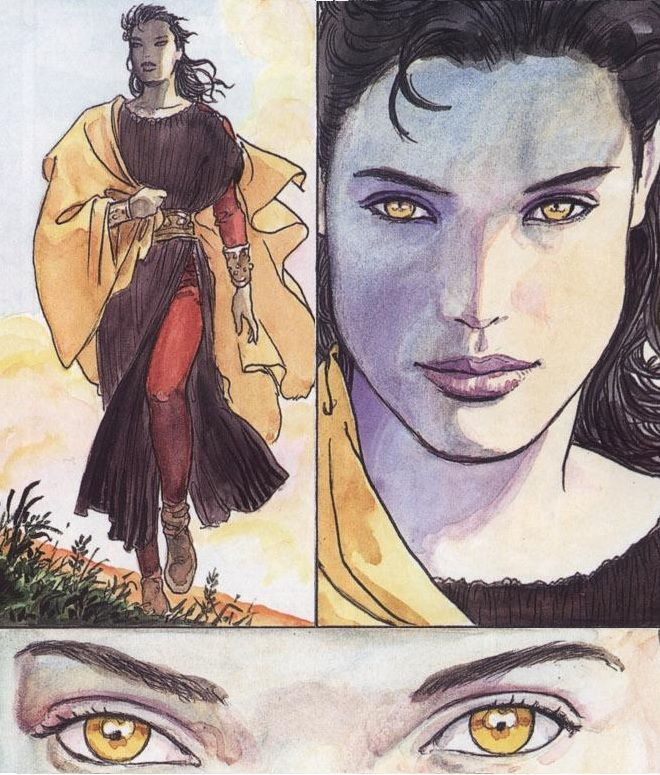 milo manara desire of the endless | Found on westcoastavengers.tumblr.com