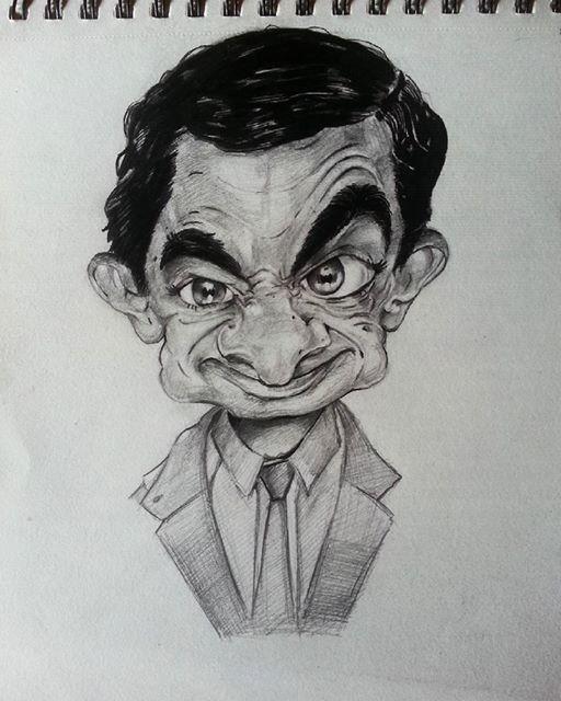 caricature, jishnu k on ArtStation at https://www.artstation.com/artwork/yZR08