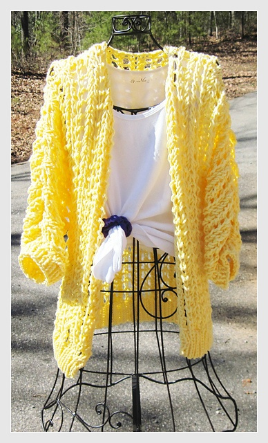 Ravelry: Adult Spring Cardigan pattern by Jean Fleming