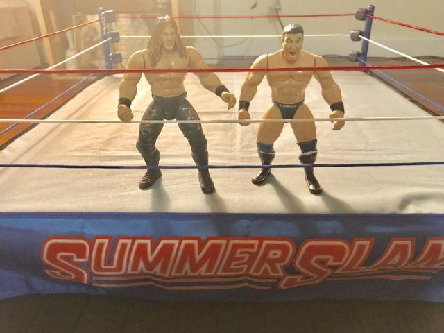 WWE/WWF Jakks BCA LOT Edge & Ken Shamrock | eBay