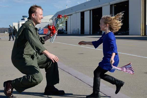 Military Returning Home
