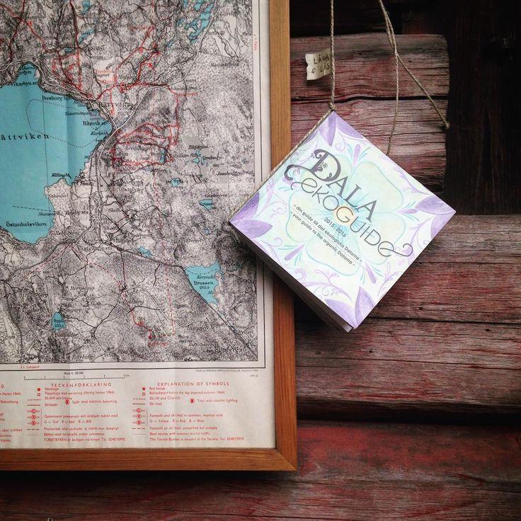 Skaffade ett låne-ex av Dala Ekoguide som finns vid vår boklåda. Superfin bok där det finns tips på eko-ställen i Dalarna. Bland annat flera av våra leverantörer finns med däribland @hansjomejeri och @walstedtsgard #rättvik #dalarna #dalaekoguide #ekologiskt