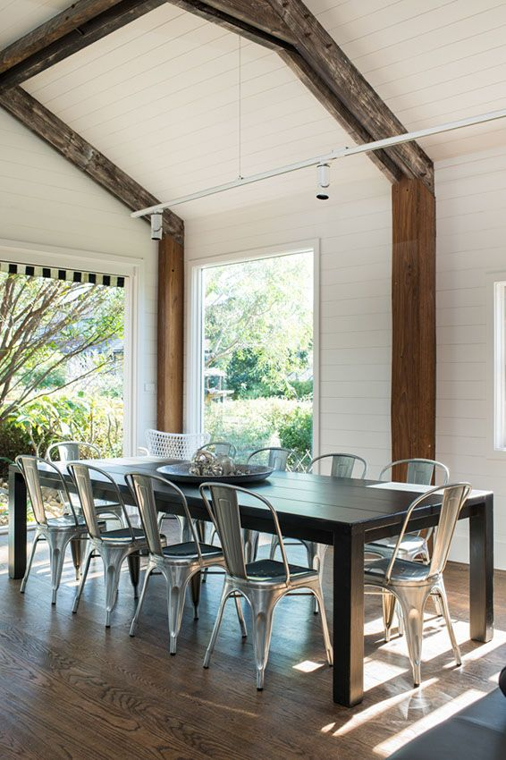 Coastal dining with a touch of industrial | At home with Kate | Home Ideas magazine