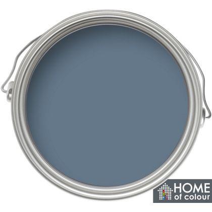 Home of Colour Feature Wall Blue Slate - Matt Emulsion Paint - 1L