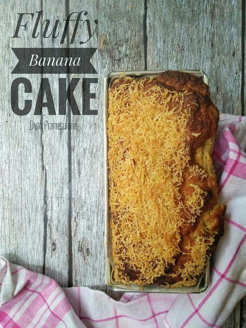 Dydie The Kitchen Hero: Fluffy Banana Cake