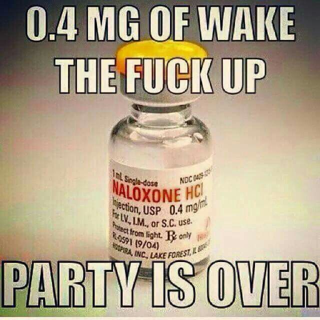 EMS narcan drug humor
