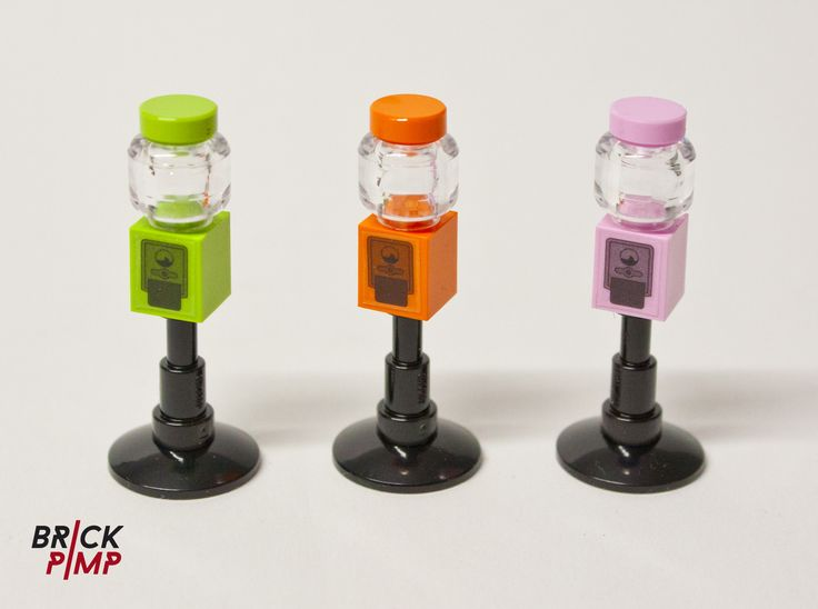 BUBBLE GUM MASCHINE Custom LEGO Set on www.brick-pimp.com