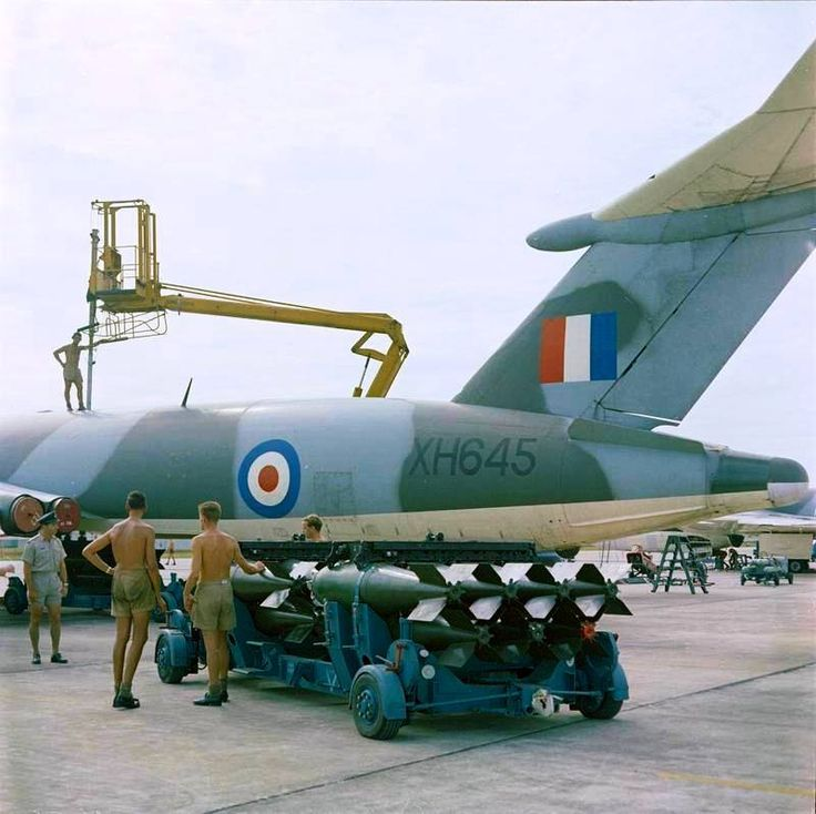 Handley Page Victor B.1A (XH645) Of No 57 Squadron Being