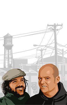 Creadores de GTA San Andreas, Sam Houser y Dan Houser