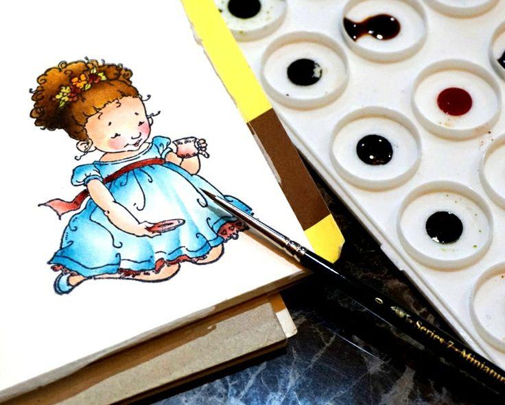 Coloring by Rina Damay