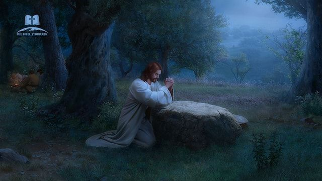 Jesus Betet Im Garten Gethsemane Da Kam Jesus Mit Ihnen Zu Einem Hofe Der Hiess Gethsemane Und Sprach Zu Seinen Jungern S Himmlischer Vater Son Of God Jesus