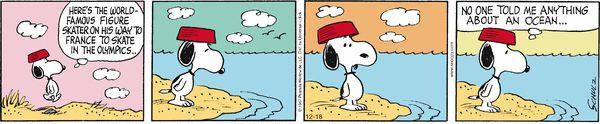 Peanuts Comic Strip for Dec/18/2014 on GoComics.com