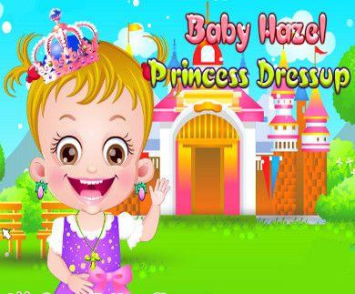 Baby Hazel Princess Dressup, vesti Baby Hazel da Principessa