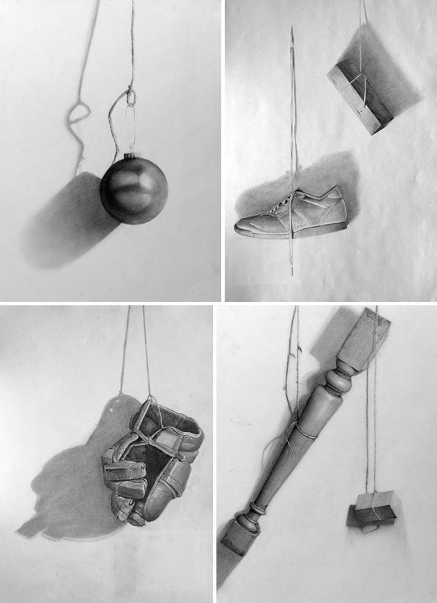 Hanging Lamp Painting