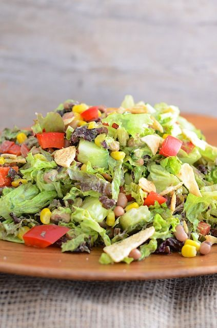 Vegan Southwest Chopped Salad 3