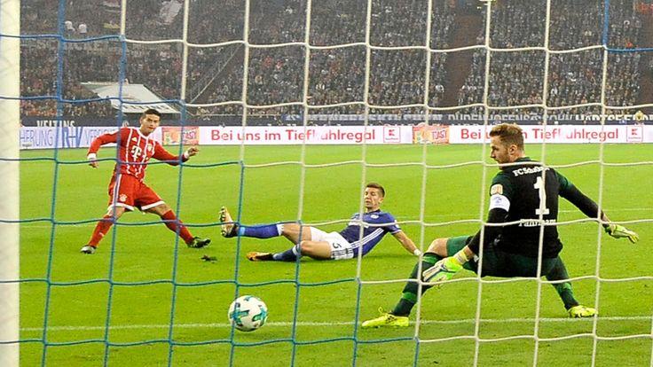 Schalke - Bayern 0:3 - 1. James-Gala für Bayern - Bundesliga Saison 2016/17 - Bild.de