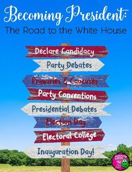 Presidential Election & Inauguration: Becoming the President Texts & Activities - This civics unit teaches students the presidential election process, focusing on the Electoral College, Caucuses and Primaries, and Inauguration Day.  Each text includes comprehension questions. Grades 6-8 $
