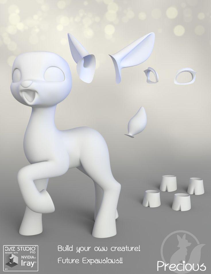 Precious Deer | 3D Models and 3D Software by Daz 3D