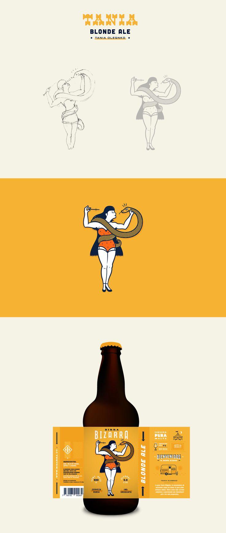Birra Bizarra Bottles