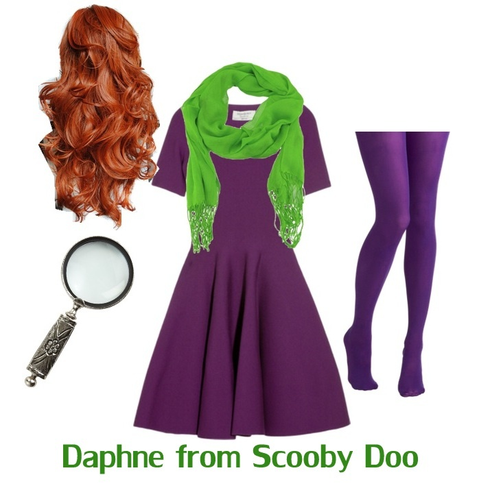 Michael wants to be Scooby Doo characters for Halloween!