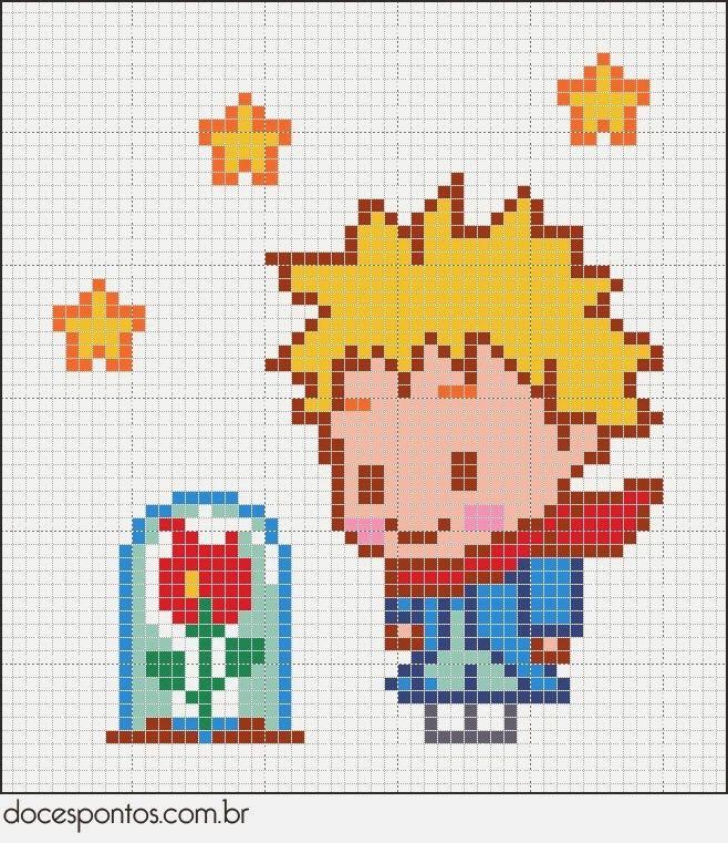 Χειροτεχνήματα: Σχέδια για κέντημα με το Μικρό Πρίγκιπα / Little Prince cross stitch patterns