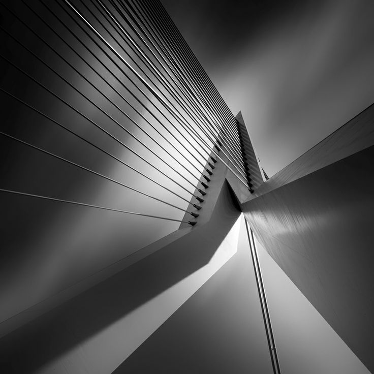 Shadow and light IV by Kees Smans: Espace Vie, Inspiration Architecture, Eramus Bridges, Art Photography, Kee Sman, B W Photography, Geometric Figures, Architecture Photography, Black