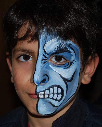 25+ best ideas about Monster face painting on Pinterest ...