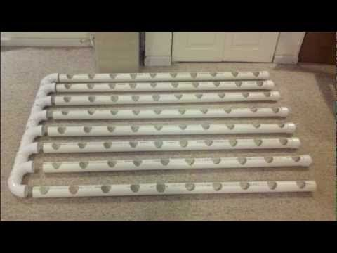 Diy Indoor Vertical Hydroponics System The Hydrovert 80 Spot Build